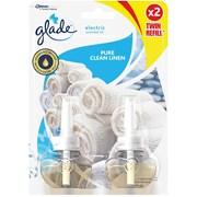 Glade Plug In Refill Clean Linen Twin 2x20ml (GPRTC)