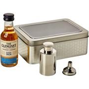 Glenlivet With Mini Hip Flask In Tin 5cl (G0362MALT)