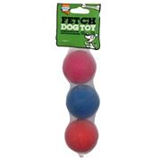 Goodboy 65mm Dog Sponge Balls 3s (08053)