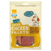 Goodboy Deli Treats Chewy Chicken Fillets 80g (05558)