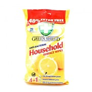 Greenshield Anti-bac Household Wipes 40% Extra 70s