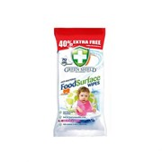 Greenshield Food Surface Wipes 40% Extra 70s