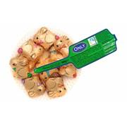Fairtrade Choc Golden Easter Bunnies Net 100g (GZ833)