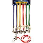 Henbrandt Jumbo Metal Whistles (N38407)