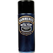 Hammerite Aerosol Smooth Black Paint 400ml (5092965)