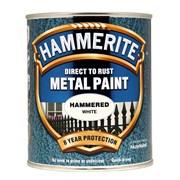 Hammerite Hammered Paint White 750ml (5092971)
