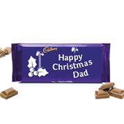 Cadburys Dairy Milk Happy Christmas Dad 110g (1032-112-284-2)