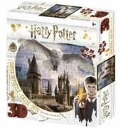 Harry Potter Super 3d Hogwart & Hedwig Puzzle 500pc (HP32513)