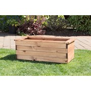 Charles Taylor Medium Trough Planter - Wooden (HB39)