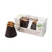 Hadleigh Maid Vegan Dk Choc Cappuccino Truffle Walnut Whirls 90g (HD38)