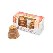 Hadleigh Maid Milk Choc Winter Spiced Truffle Walnut Whirls 92g (HD516)