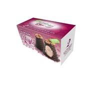 Hadleigh Maid Vegan Dk Choc Sloe Gin Truffle Walnut Whirls 90g (HD518)
