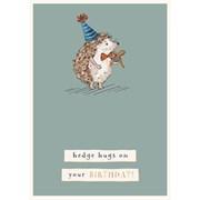 Hedge Hugs B/day Card (GH1058)