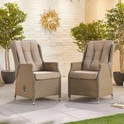 Heritage Carolina Dining Chairs - Pair - Willow