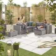 Heritage Chelsea Corner Sofa Set - White Wash