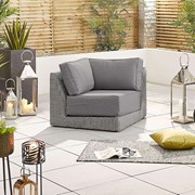 Heritage Luxor Sofa Piece - Corner - White Wash