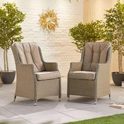 Heritage Thalia Dining Chairs - Pair - Willow