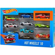 Hot Wheels 10 Car Gift Pack (900 54886)