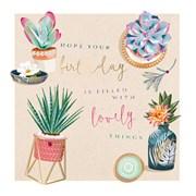 Houseplant Heaven B/day Card (II1112W)