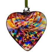 Frendship Heart Multicoloured 8cm (HR8MU)
