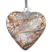 Frendship Heart Pastel Gold 8cm (HR8PASTELGO)