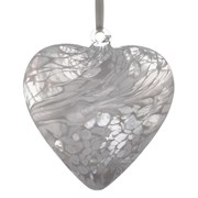 Frendship Heart White 8cm (HR8WH)