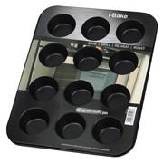 I-bake Non Stick 12 Cup Mini Muffin Pan (5507)