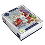 Tom Smith Luxury Santa Cards 20s (XALTC405)