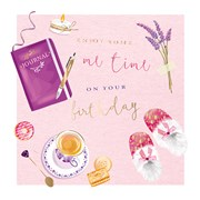 Time For Me B/day Card (II1115W)