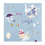 Birthday Tea Card (II1120W)