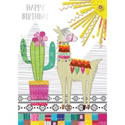 Llama Card (IJ0007W)