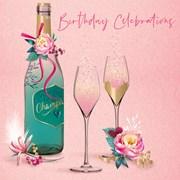 Birthday Fizz B/day Card (IJ0091W)