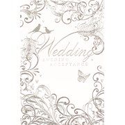 Simon Elvin Wedding Evening Acceptance Cards (IW-322)