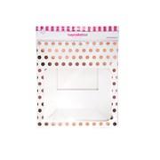 12 Hole Cupcake Box Rose Gold Polka Dot (J105)