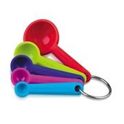 Zeal Silicone Measuring Spoon Set (J137DISP)