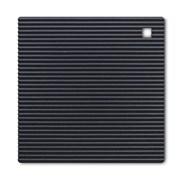 Silicone Square Trivet Black 18cm (J238N)