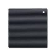 Silicone Square Trivet Black 22cm (J310N)