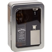 Jack Daniels With Mini Hip Flask In Tin 5cl (G0362JD)
