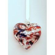 Birthstone Heart January 7cm (BH01J)