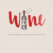 Wine Oclock Card (JJ0745W)