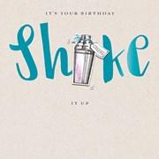 Shake It Up  B/day Card (JJ0748W)