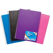 Jumbo Notebook Bright Colour A4 (301030)