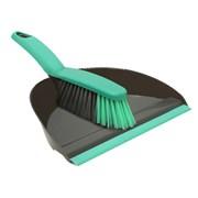 Jvl Dust Pan & Brush Set Grey (20-038GY)