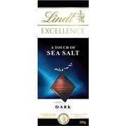 Lindt Excellence Dk Sea Salt Bar 100g (K452)