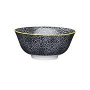 Kc Floral Bowl Black 15.7cm (KCBOWL15)