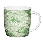 Kitchen Craft Kc China Barrel Shape Mug Palm 425ml (KCMBAR136)