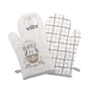 Powered By Coffee Oven Mitts (KCO200960)