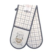 Powered By Coffee Dble Oven Gloves (KCO200984)