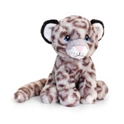 Keel eco Sitting Snow Leopard 18cm 18cm (SE6233)