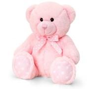 Keel Pink Spotty Bear 25cm 25cm (SN0777)
